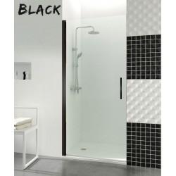 Open Black puerta abatible con cierre imán a pared