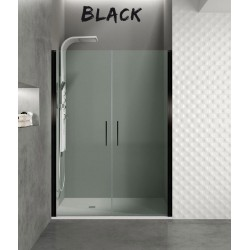 Frontal Open Black, 2 cristales abatibles
