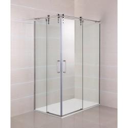 Mampara de baño angular Moving acero en esquina fabricante GME venta online