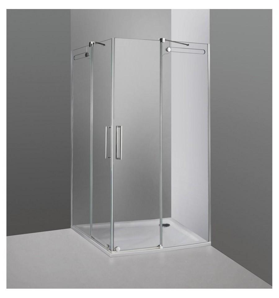 mamparas de ducha en esquina de dise o modelo vetrum de gme