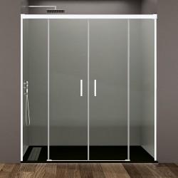 Frontales de baño BASIC, perfiles en color blanco