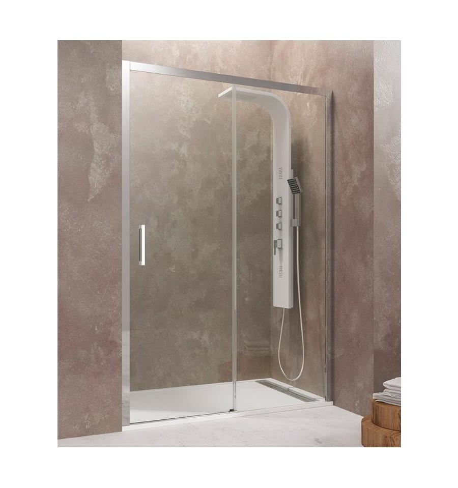 Frontales de ducha con fijo y corredera modelo aktual gme - Precio mampara ducha ...