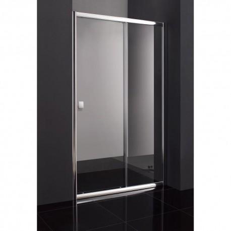 Venta online mampara de baño TITAN 1 fijo + 1 puerta corredera GME
