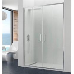 Frontal de ducha PRESTIGE SPAZIO 2 fijos + 2 puertas correderas