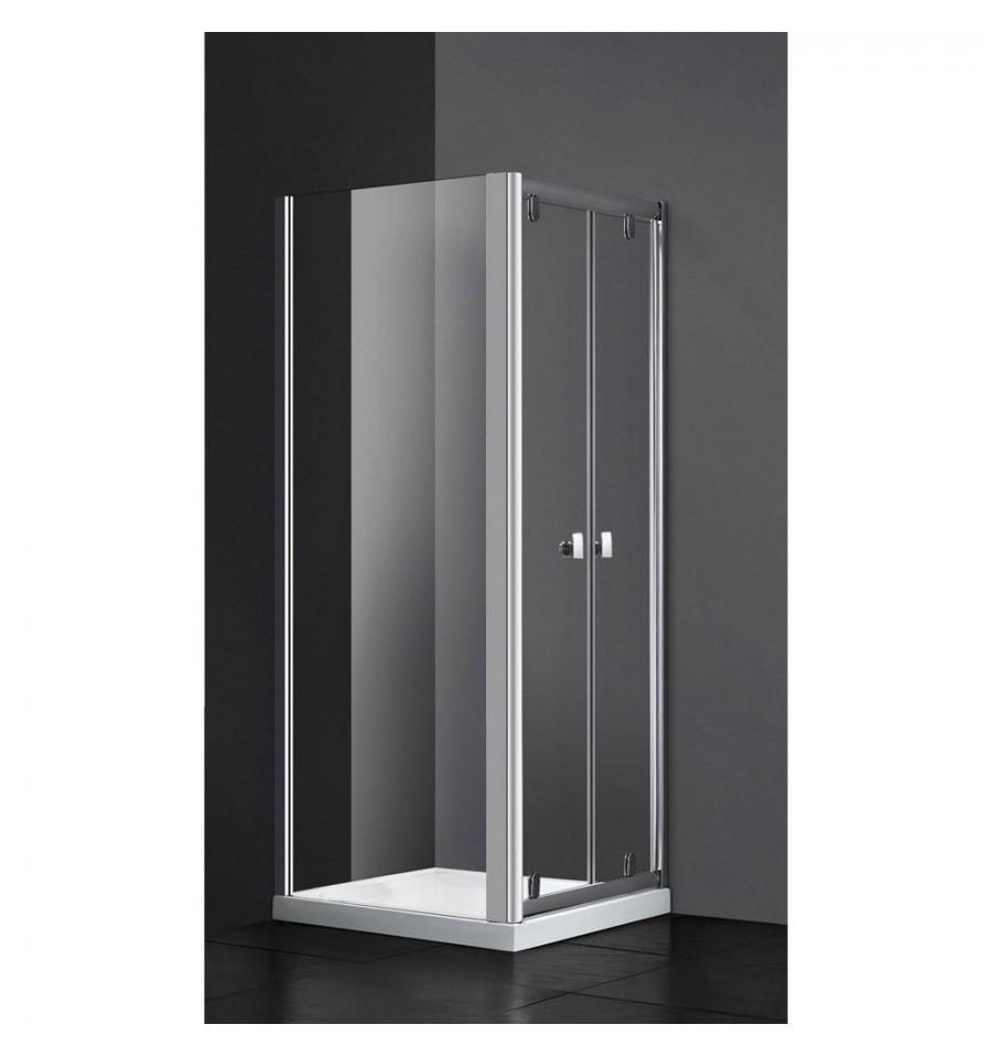 Frontales de 2 puertas abatibles modelo slim gme - Mamparas de ducha puertas abatibles ...