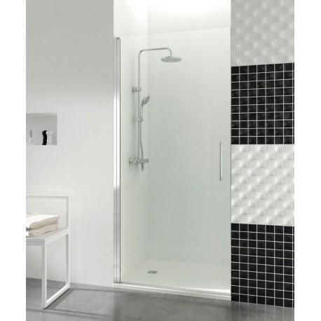 Puertas de cristales abatibles a medida baratas para ducha for Baneras roca baratas