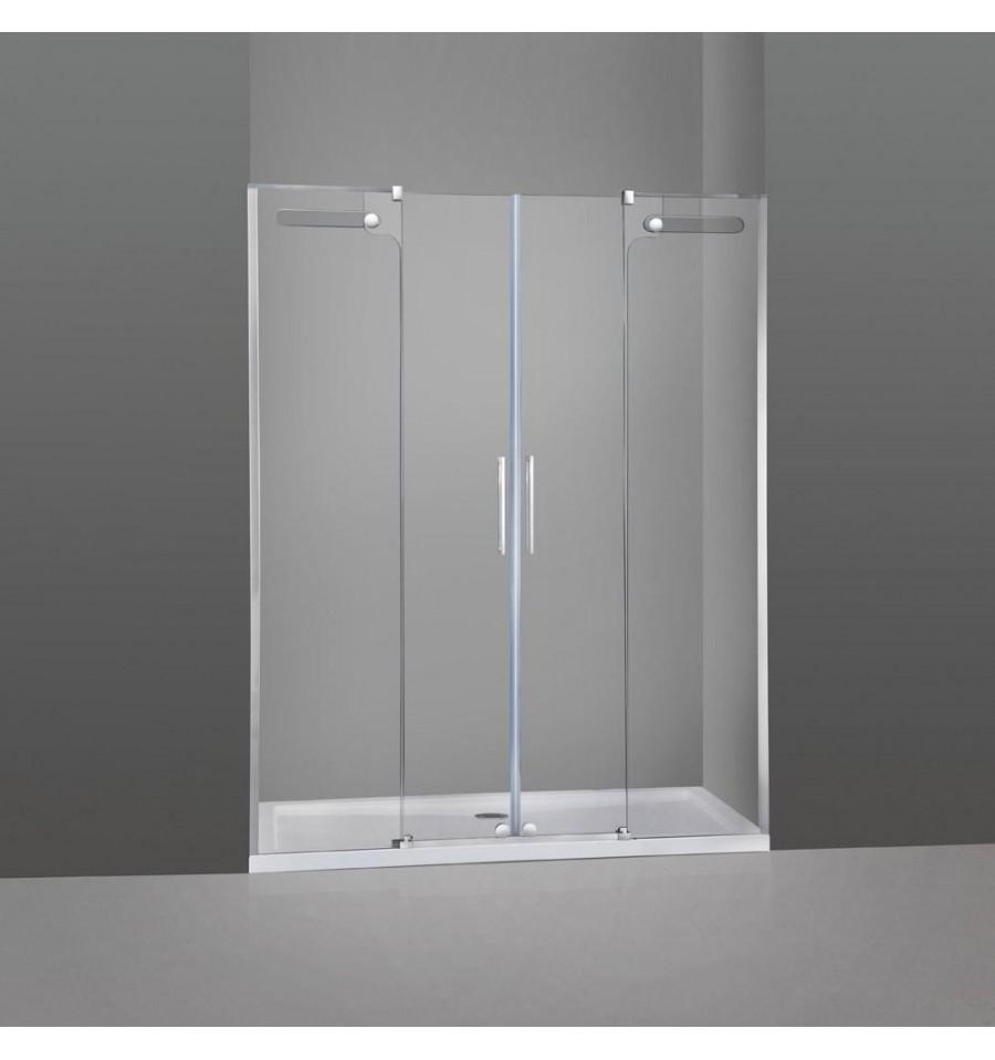 Frontal de ducha 2 fijos y 2 correderas vetrum gme - Mamparas ducha correderas ...