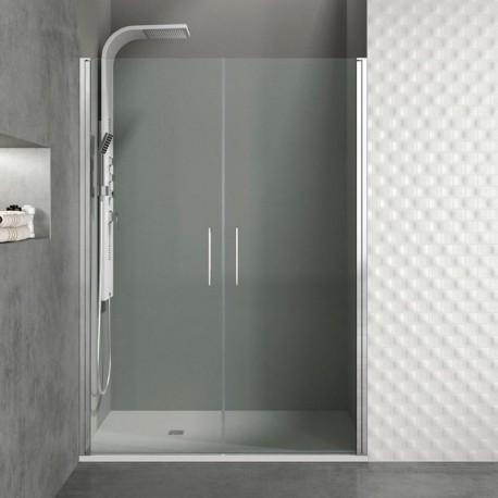 Frontales de ducha con 2 puertas abatibles a medida open gme - Mamparas acrilicas para ducha ...