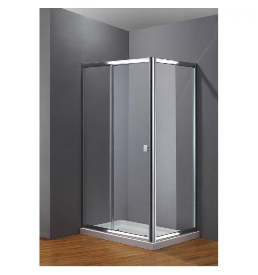 Frontales de ducha con puertas correderas modelo titan - Recambios gomas mamparas bano ...