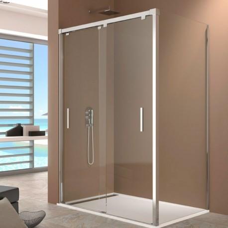 Mampara de baño venta online BY PASS con lateral fijo GME
