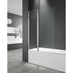 Panel de bañera OPEN 2 fijo + abatible