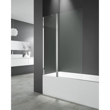 OPEN 2 panel de bañera fijo más puerta abatible de GME