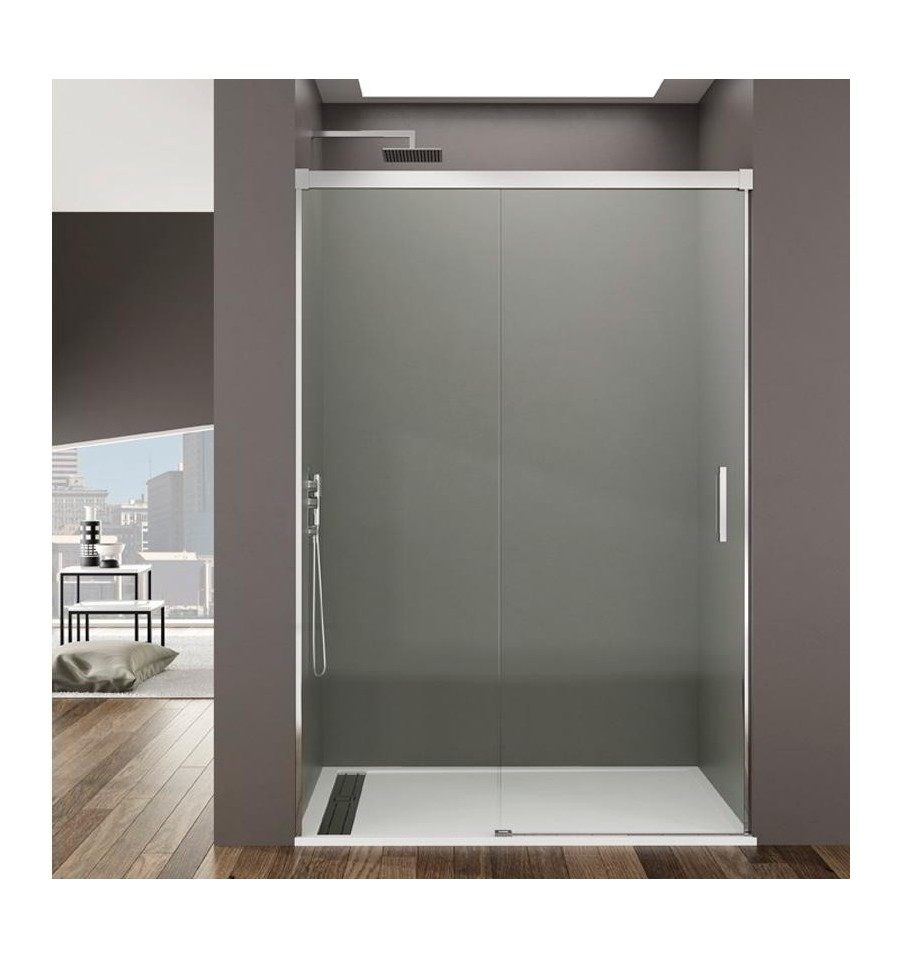 Mamparas de ducha frontales econ micas modelo basic gme - Mamparas de ducha sin perfiles ...