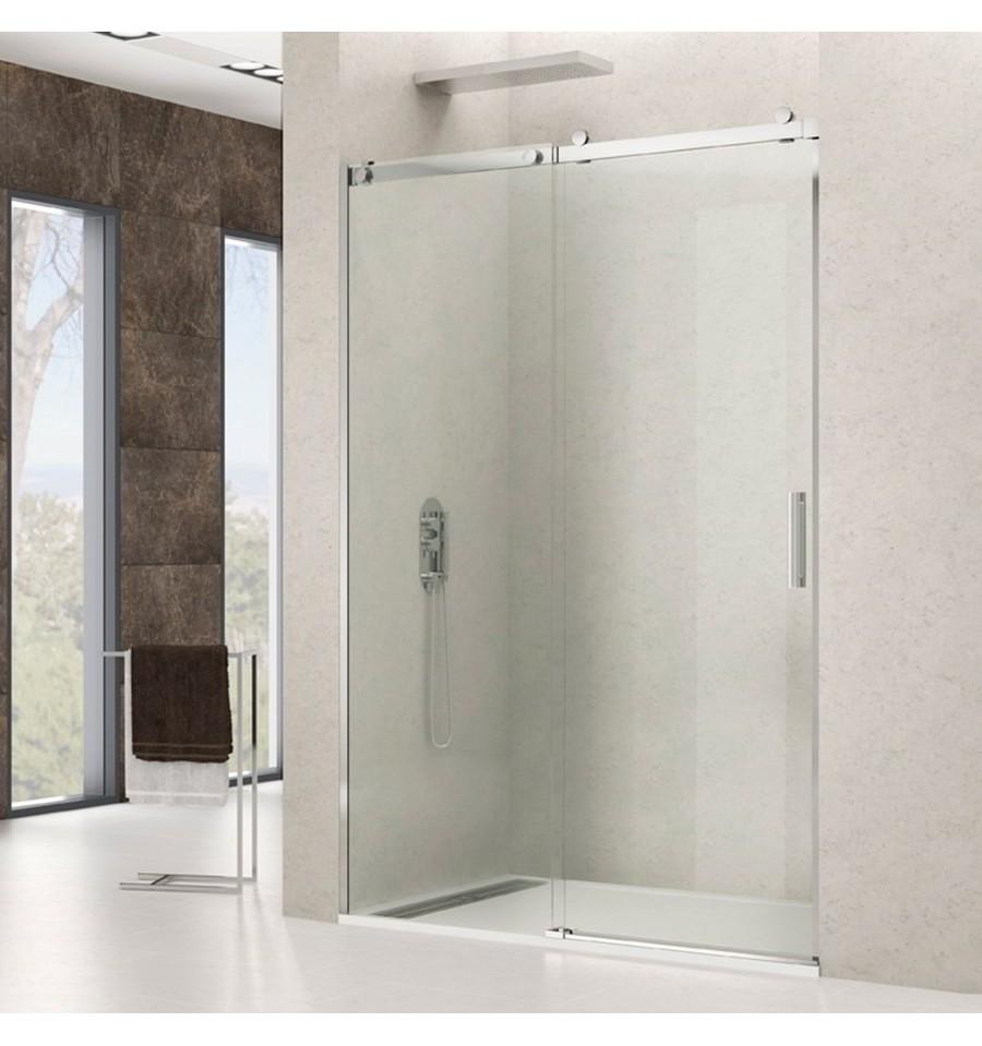 Frontal de ducha modelo rotary fijo y corredera gme - Mamparas de cristal para ducha ...