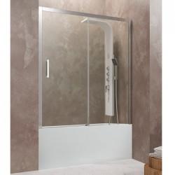 AKTUAL frontal de bañera de fijo + corredera