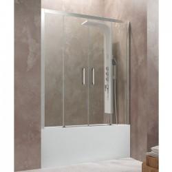 Frontal de bañera AKTUAL SPACIO dos fijos más dos puertas