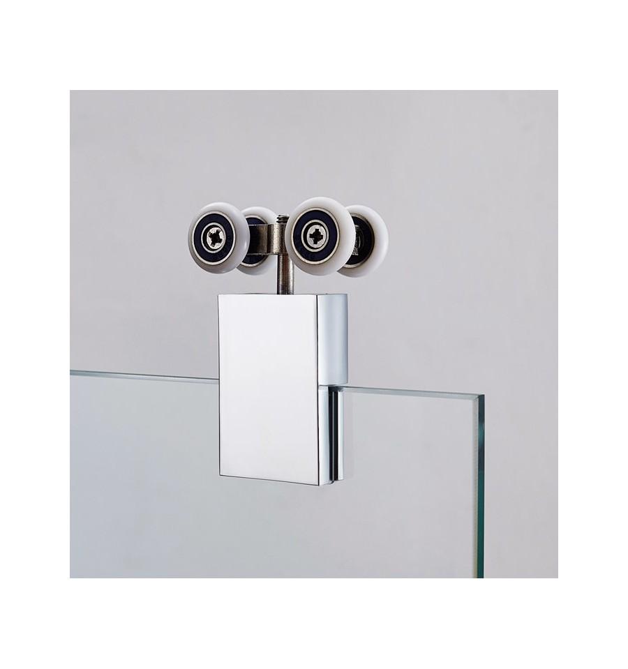 Mamparas angulares al v rtice puertas correderas modelo - Rodamientos mamparas ducha ...