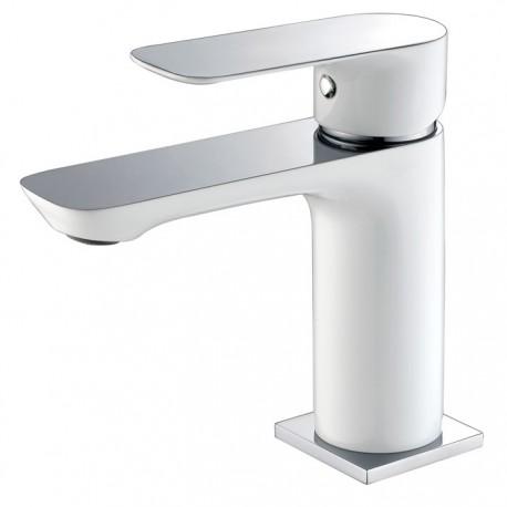 Grifería lavabo Cassio blanco monomando