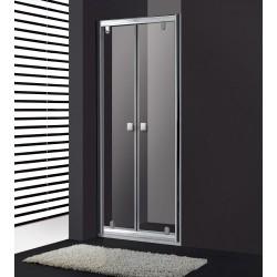 Frontal de ducha TITAN SLIM 2 puertas abatibles