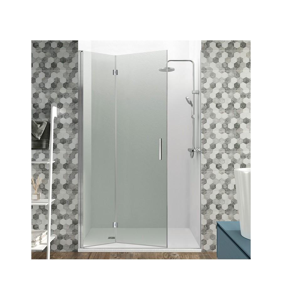 Mamparas de ducha 2 hojas plegables modelo glass by gme for Hojas plegables