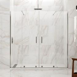 Frontales de ducha VITRO SPAZIO 2 fijos + 2 correderas